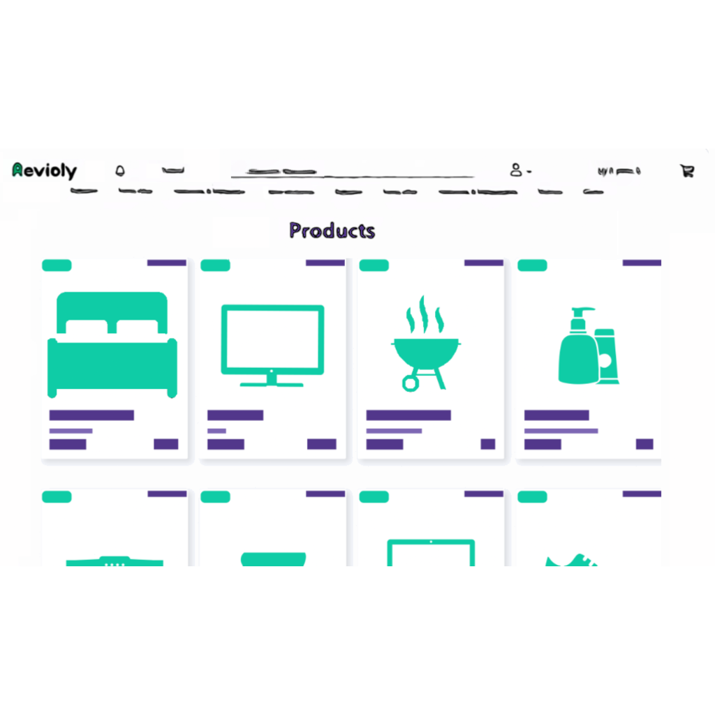 List products and get reviews on Revioly